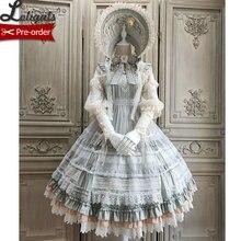 Цветущие камелиас~ элегантное платье лолиты JSK вечерние платья миди от Alice Girl~ предзаказ
