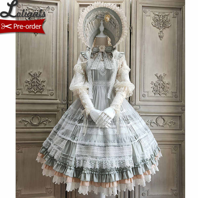 Blooming Camellias ~ Elegant Lolita JSK Dress Midi Party Dress by Alice Girl ~ Pre-order