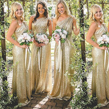 SuperKimJo Sparkly Bridesmaid Dresses Long Vestido Dama De H