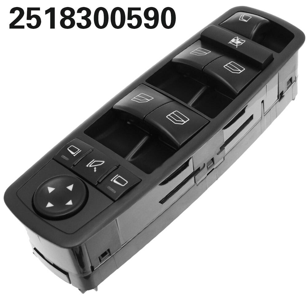Sürücü yan güç pencere ana şalter için Mercedes Benz GL R sınıfı ML350 W251 X164 2518300590 A 251 830 05 90 a2518300590