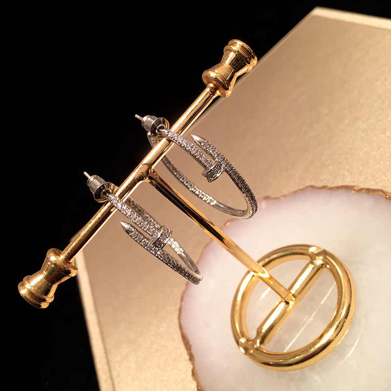 Корейские серьги с цирконом, роскошные серьги-кольца, богемные индийские серьги для женщин, висячие серьги