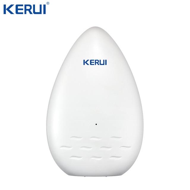 KERUI WD51 120dB czujnik alarmowy wycieku wody elektroniczny wykrywacz nieszczelności dla domu Wifi Alarm Gsm