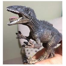 1pc simulación de dinosaurio sólido modelo dinosaurio juguetes pterosaur Tricerosaur Jurassic world park juguetes para niños T-REX regalos educativos de juguete
