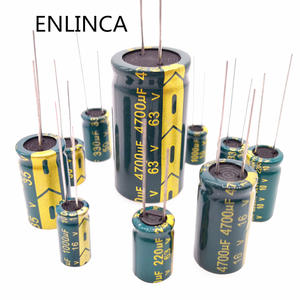 Capacitor 47UF 2200UF 330UF Low-Esr 35V 5-20pcs 16V 680UF 25V Aluminum 50V 10V High-Frequency