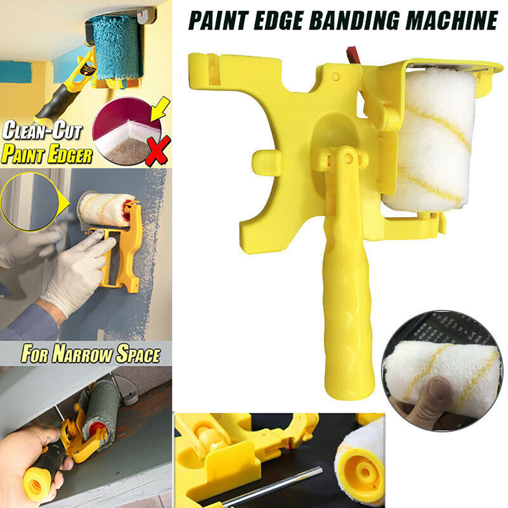 Roller Wall Brushing Tool Paint Emulsion Paint Color Separation Trimming Baffle Door And Window Socket Paint Wall Brushing Tool