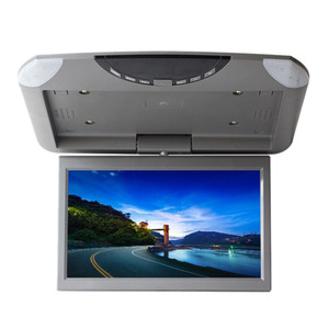 10.1 Inch Car Hd Digital Lcd Display Reversing Image Display Rotating Screen Ceiling Display Usb Sd Card Player|Car Monitors|   -