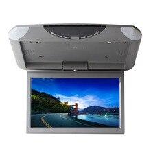 Pantalla Lcd Digital Hd para coche de 10,1 pulgadas Pantalla de marcha atrás pantalla giratoria Pantalla de techo reproductor de tarjeta Sd Usb