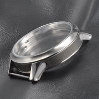 45mm watch case for ETA 6497/6498 white bezel manual winding movement