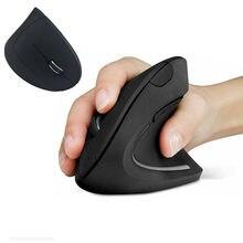 1/2 pièces souris ergonomique verticale Bluetooth Gamer souris de jeu 2.4G 1600DPI souris sans fil pour ordinateur portable ordinateur portable