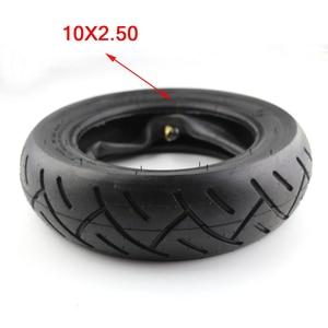 Image 1 - Neumático de tamaño 10x2,50 para bicicleta, llanta inflable de 10x2,5 para patinete eléctrico, con unidad de equilibrio y tubo interno