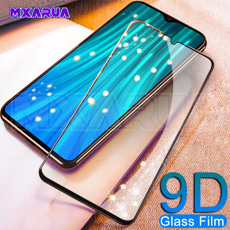 9D Full Cover Tempered Glass on the For Xiaomi Redmi Note 8 7 6 Pro Redmi 8 8A 7 7A 6 Pro 6A Go K20 Screen Protector Glass FilmPhone Screen Protectors   -