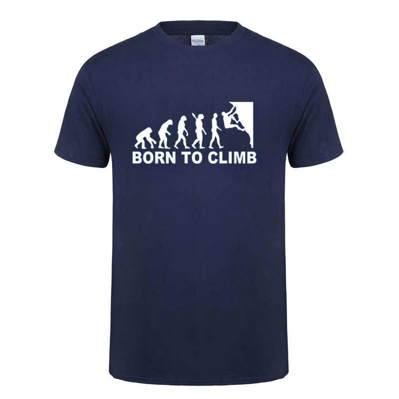 進化新生児に登るtシャツ父の日プレゼントおかしい誕生日ギフト男性お父さん父夫oネック綿tシャツtシャツ