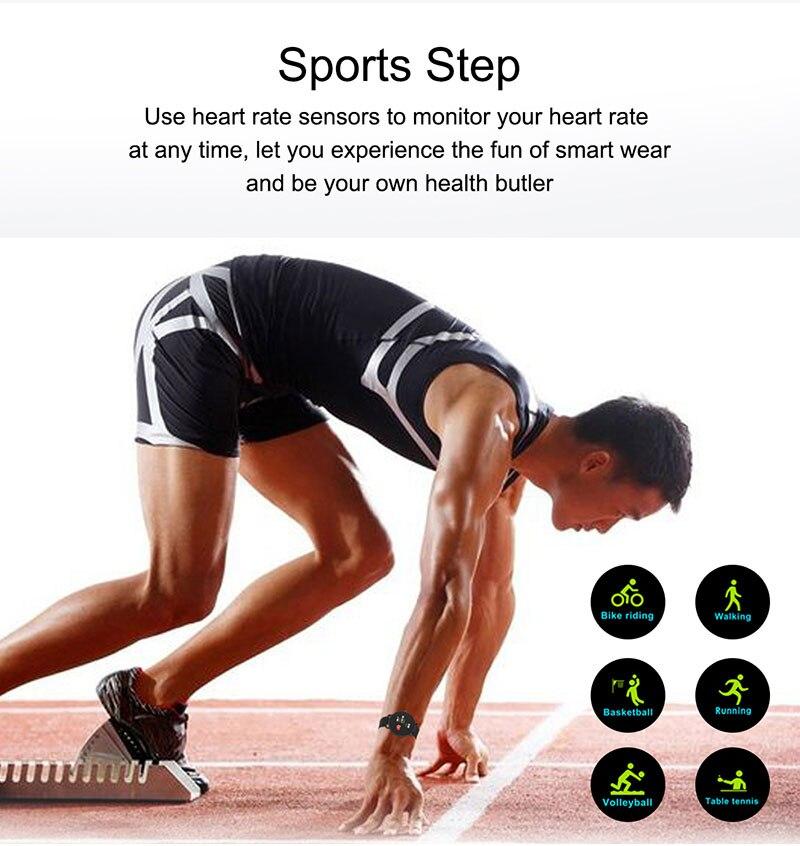 H5e2a5bc1ace641cfa5a6c874640f1284N 2020 Full Touch Smart Watch Heart Rate Fiteness Tracker Blood Pressure