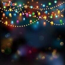 Yeele Christmas Backdrop Winter Light Bokeh Newborn Baby Portrait Photography Background For Photo Studio Photocall Photophone