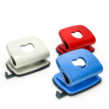 Punching-Tool Double-Holes Stationery Binding-Puncher Paper-Card-Hole Office-Supply Gift