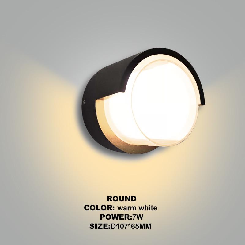 Round Warm White