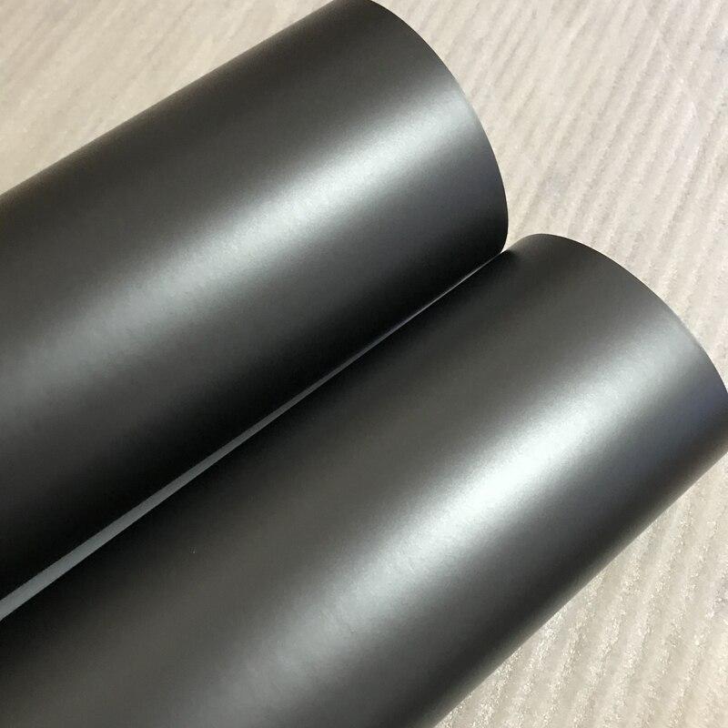 Matte Anthracite Metallic Vinyl Wrap Gunmetal Matt Car Wrapping Film Covering Foil With Air Bubble Free 10/20/30/40/50CMX152CM