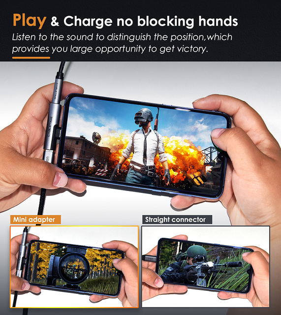 CABLETIME USB Type C to Audio 3.5mm Jack Earphone Headphone Analog signal For Xiao mi Huawei Samsung Type-C OTG USB-C OTG C018 1