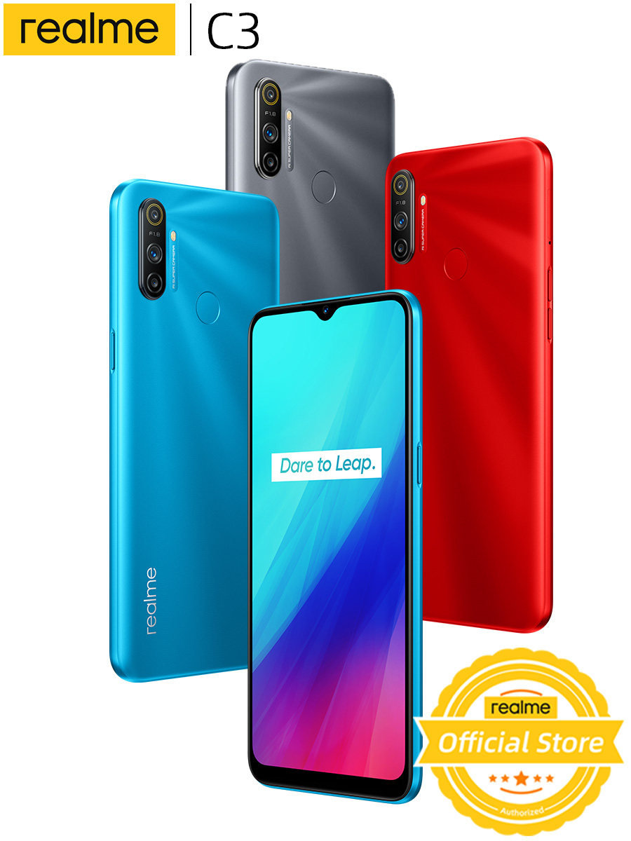 Realme 64GB 3GB LTE/WCDMA/GSM NFC Supercharge Octa Core Fingerprint Recognition 12MP