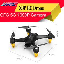 NEW JJRC X3P GPS RC Drone With Wifi FPV 1080P HD Camera Brushless Quadcopter Altitude Hold RC Helicopter VS Bugs 5W Dron Gift rc drone syma x5sw fpv rc quadcopter drone with camera 2 4g 6 axis rc helicopter drones with camera hd vs jjrc h31 h33