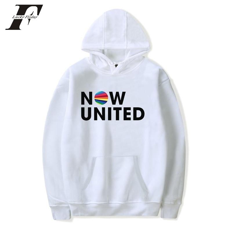 Now United Sabina Hidalgo 03 Hoodie Sweatshirts Trui Kpop Newtracksuit Streetwear Print Casual Mannen Vrouwen Printed Coat Tops 13