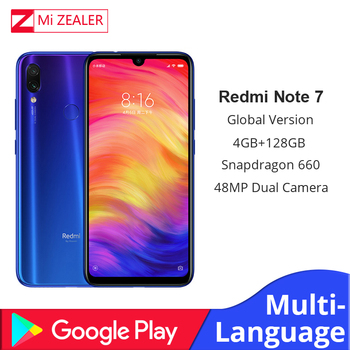 Versión Global Xiaomi Redmi Note 7 4 GB + 128 GB Snapdragon 660 Octa Core 4000 mAh 6,3