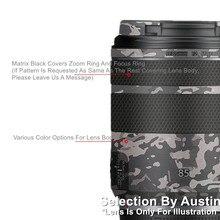 Объектив наклейка кожи Обёрточная бумага Защитная экранная пленка для Canon RF85 f2 макро Анти-Царапины Стикеры