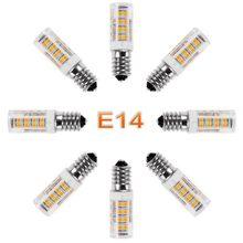 Novo mini e14 lâmpada led 7w 9w12w 15 ac 220v 230v 240v led milho lâmpada smd2835 360 ângulo de feixe substituir luzes do candelabro halogênio