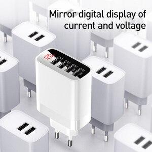 Image 3 - Baseus carregador usb para iphone 11 pro max 30w carga rápida para xiaomi mi huawei companheiro vermelho 30 pro carga rápida 4 portas de carregamento usb