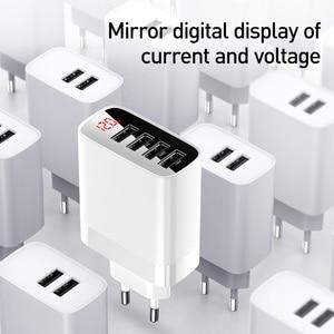 Image 3 - Baseus usb充電器11プロ最大30ワット急速充電xiaomi赤mi huaweiメイト30プロ高速充電4ポートusb充電