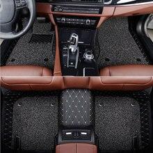 Car floor mat for audi a1 a3  a4 a5 a6 Q3 Q2L Q5 Q7 S3 S5 S6 S7 S8 sportback AVANT TT TTS 2020 New style Waterproof Carpets custom car floor mats for audi tt mk1 a3 sportback a5 sportback a1 a4 a6 a7 a8 s3 s5 s6 s7 s8 r8 sq5 q3 q5 q7 all model car mats