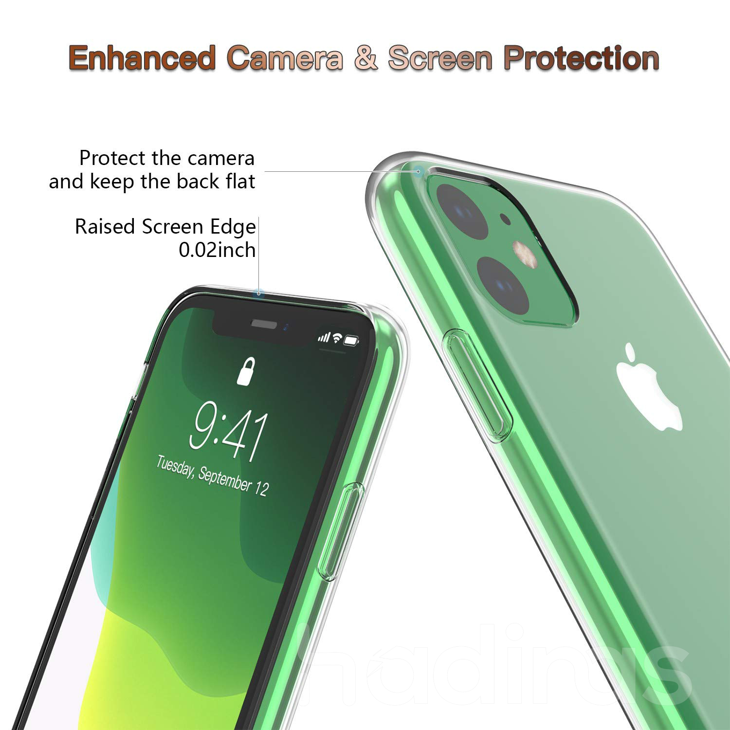 Hadinas Silicone Case for iPhone 11/11 Pro/11 Pro Max 20