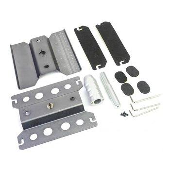Di Alluminio Del Metallo RC Auto Lavoro Workstation Stand Di Riparazione Rotazione Di 360 Gradi Per 1/8 1/10 1/12 1/16 Bilancia Modello