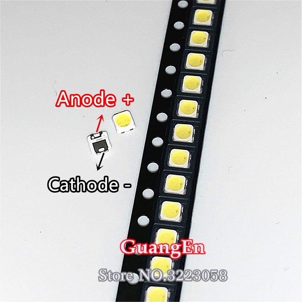 500 サムスン 2828 led バックライト TT321A 1.5 ワットの 3 ワットツェナーと 3 v 3228 2828 クールホワイト lcd バックライトテレビ tv アプリケーションライトビーズ   -