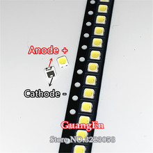 500PCS FOR SAMSUNG 2828 LED Backlight TT321A 1.5W 3W with zener 3V 3228 2828 Cool white LCD Backlight for TV TV Application