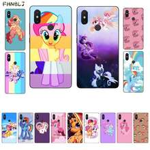 FHNBLJ My little pony DIY Luxury Phone Case for Xiaomi mi 5 6 plus 6x 8 8se 8lite 9 9se 5x 10 pro(China)