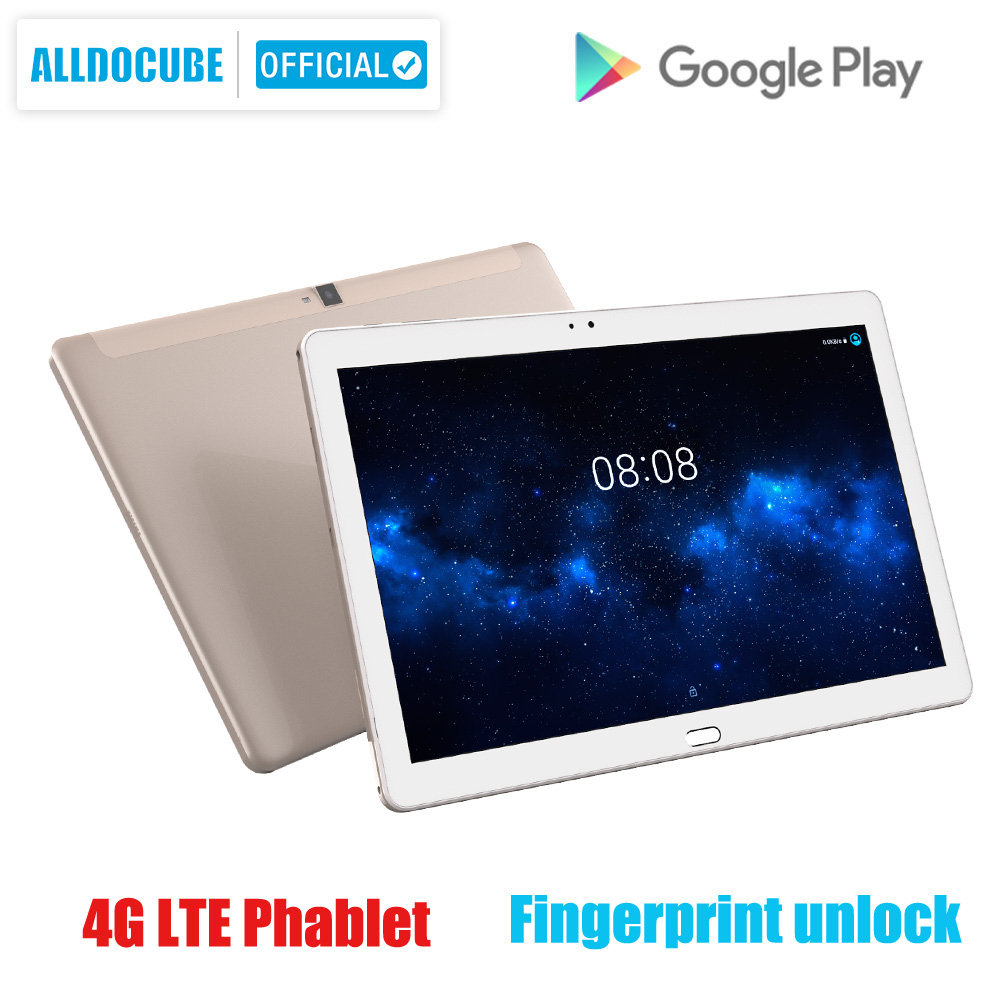 ALLDOCUBE Freer X7 10.1 pouces tablette 1920x1200 Android 6.0 MT8783 Octa Core 3GB RAM 32GB ROM 4G LTE alphablet enfant