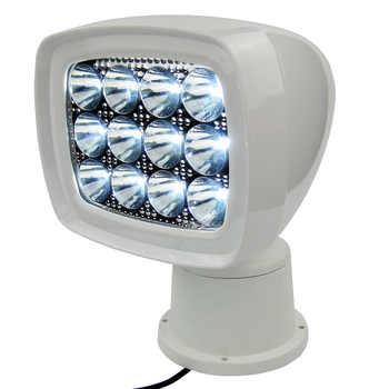 Wireless LED Remote Control Searchlight 10-30V 36W IP67 1600LM Marine Boat Spotlight