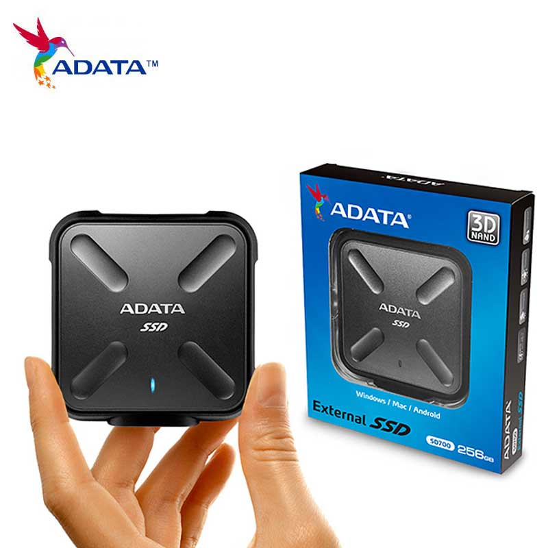 Processeur IP68 3D Portable SSD 256gb 512gb 1 to USB3.1 Disque ssd Externe SD700 Disque dur haute Performance pour livraison directe d'ordinateur Portable