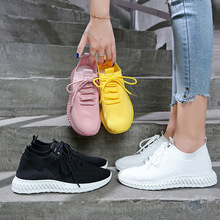 2020 Autumn New Women Casual Shoes Fashion Breathable Walking Mesh Flat Shoes Woman White Sneakers Tenis Feminino n163 women casual shoes fashion breathable walking mesh flat shoes woman white sneakers women 2020 tenis feminino gym shoes sport m60