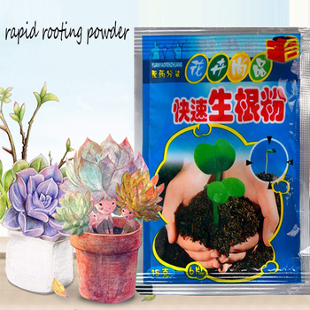 1pc Fast Rooting Powder Extra Rapid Root Plant Flower Transplant Fertilizer Hormone Growth Improve Germination Survival Tools image