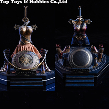 In stock 1/6 Female Figure Warrior Scene Accessories Fighter Battle Armor/Training Armor With Armour Display Stand Model