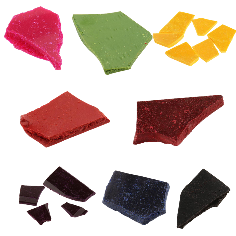 10g/Bag Candle Dye Chips Multi Color Flakes Candle Wax Dye For Paraffin Or Soy Wax Craft DIY Candle Making Supplies 8 Colors