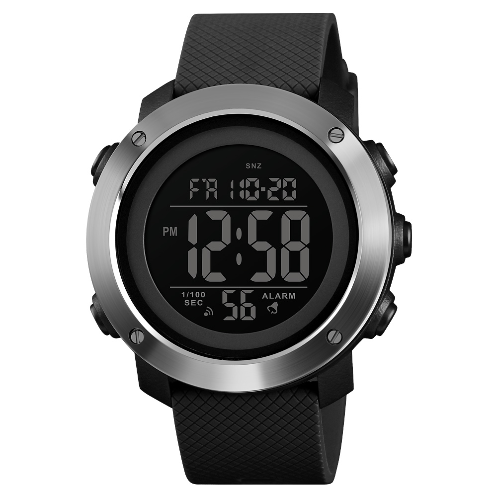 50M Waterproof Outdoor Sports Watches Men Fashion Casual Digital Wristwatches New Chronograph Week Display LED Light Alarm Clock