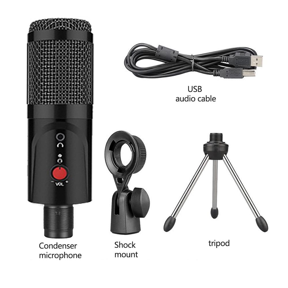 PC səs kartı professional karaoke mikrofonları üçün DJ - Portativ audio və video - Fotoqrafiya 4
