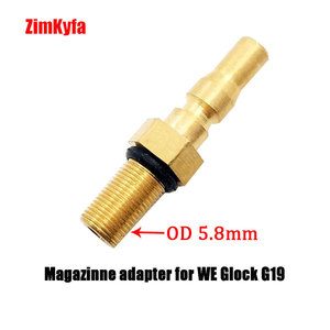 Image 4 - Airsoft Filling Adapter Accessories to Green Gas Canisters: Magazine Adaptor/Probe,Foster/Coupler,O rings,Wahsers,Coil hose