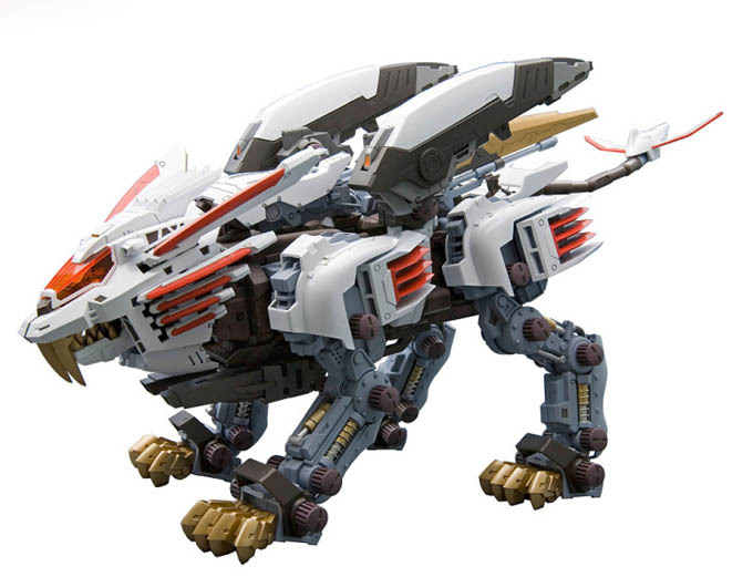 BT Black Knight Suo Si Shou Js003 Illusion ZOIDS 1/72 Assembled Model