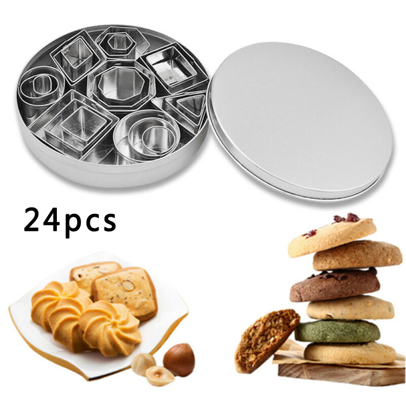 Cake Mold Stainless Steel Biscuit Cookie Fondant Cutter Mould Baking Pastry Tool
