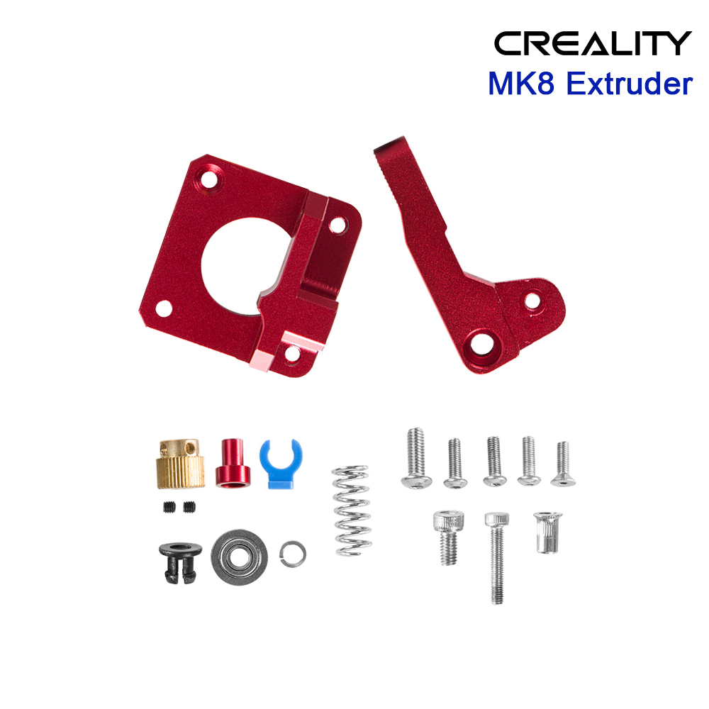 MK8 Metal Extruder Aluminum Alloy Gear 1.75mm Bowden Extruder Kit For <font><b>creality</b></font> 3D Printer Parts ender 3 5 PRO CR10 <font><b>CR10S</b></font> PRO image