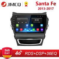 "9 ""2 Din IPS Android 2G + 32G Auto Radio für Hyundai Santa Fe 3 2013-2017 RDS DSP Auto Audio Navigation GPS Navi Kopf Einheit + Rahmen"